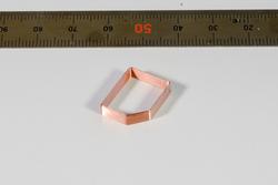 丸線5角空芯コイル
