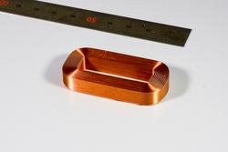 丸線空芯コイル高密度コイル